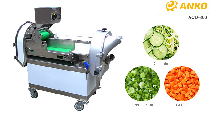 ANKO's ACD-800 multipurpose vegetable cutting machine
