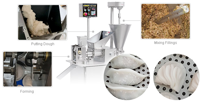 ANKO HLT-660B crystal dumpling machine
