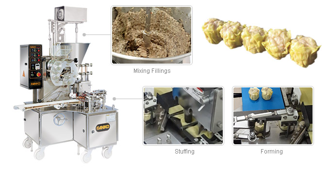 HSM-600 Siomai making machine