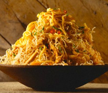 fried noodles, multiple function stir fryer
