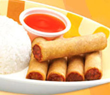Jolibee Lumpia, malalim na fried Filipino spring roll