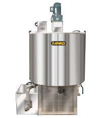 Batter menyimpan cooling and resting tank