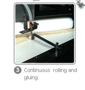 FSP - Continuous rolling and gluing