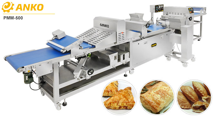 Semi Automatic Puff Pastry Making Machine PMM-500