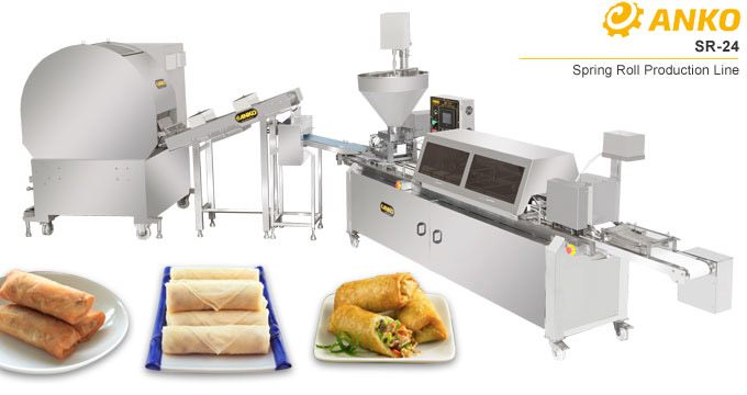 ANKO Spring roll production line SR-24