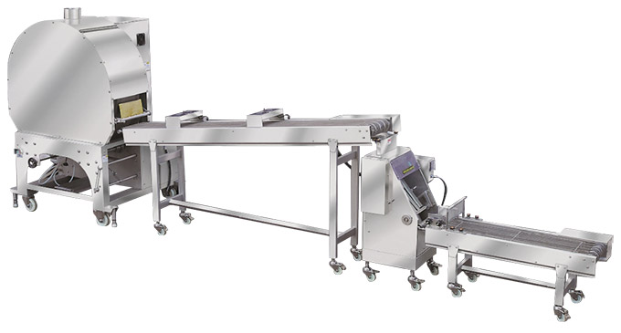 automatic spring roll and samosa pastry sheet machine serie SRP