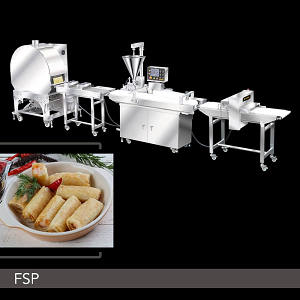 Food Machine - Fully Automatic Finger Spring Roll Production Line
