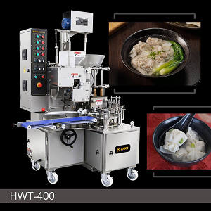 Food Machine - Automatische Doppel-Line Won Ton Maschine