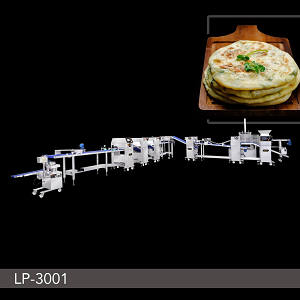 Food Machine - Automatic Layer & Stuffed Paratha Production Line