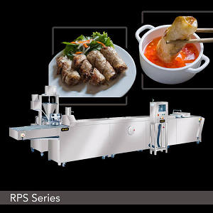 Food Machine - Vietnamese Rice Paper Spring Roll Machine