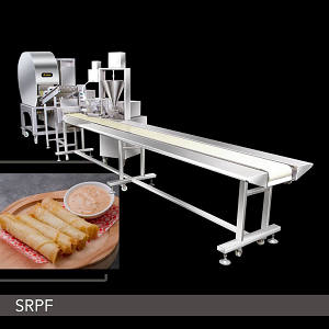 Food Machine - Semi-Automatic Spring Roll And Samosa Production Line