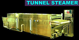 Food Machine - Tunnel Steamer