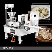 Machine automatique à double voies de dumplings imitants ceux faits maison