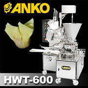 Automatic Triple Line Mini Won Ton Machine