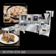 Automatic Maammoul Dan Kue Bulan Production Line
