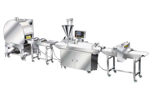 automatic single/double production line of open ends finger spring roll