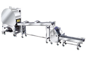 auto spring roll at samosa pastry sheet machine